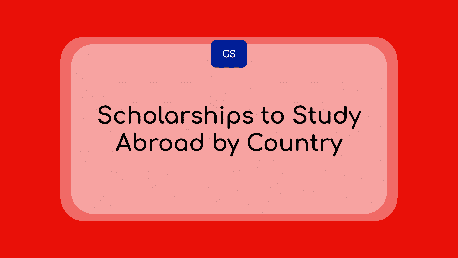 Scholarships to study abroad in 2020-2021 by country